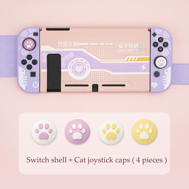 Nintendo Switch Tech Girls Hard Cover Case