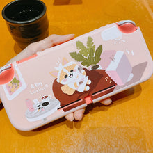 Load image into Gallery viewer, Lazy Corgi Dog Hard Protective Shell for Nintendo Switch LITE