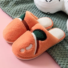 Load image into Gallery viewer, Kawaii Fruit and Food Plush Slippers