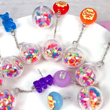 Load image into Gallery viewer, Cute Chupa Chups Candy Gummy Earrings