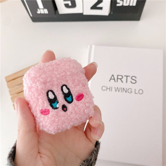 Kirby Plush Airpods Case