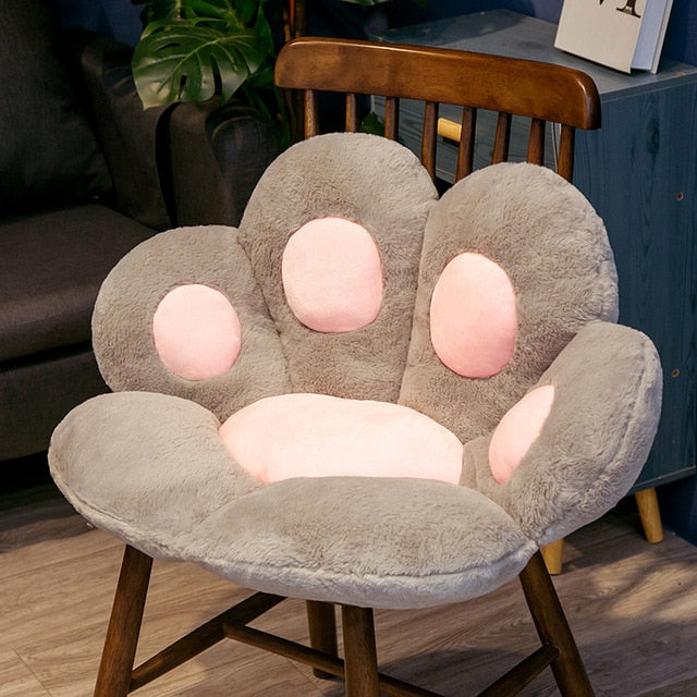 Cute Cat Paw Seat Cushion