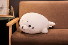 Load image into Gallery viewer, Squishy Lying Seal Plush