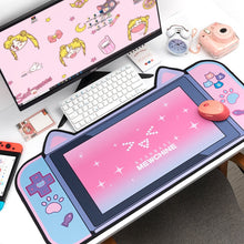 Load image into Gallery viewer, Kawaii Cat Gamer Girl Mouse Pad