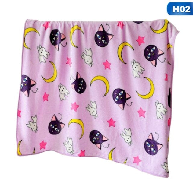 Kawaii Sailor Moon Blanket