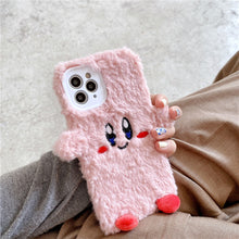 Load image into Gallery viewer, Kirby Plush iPhone Case