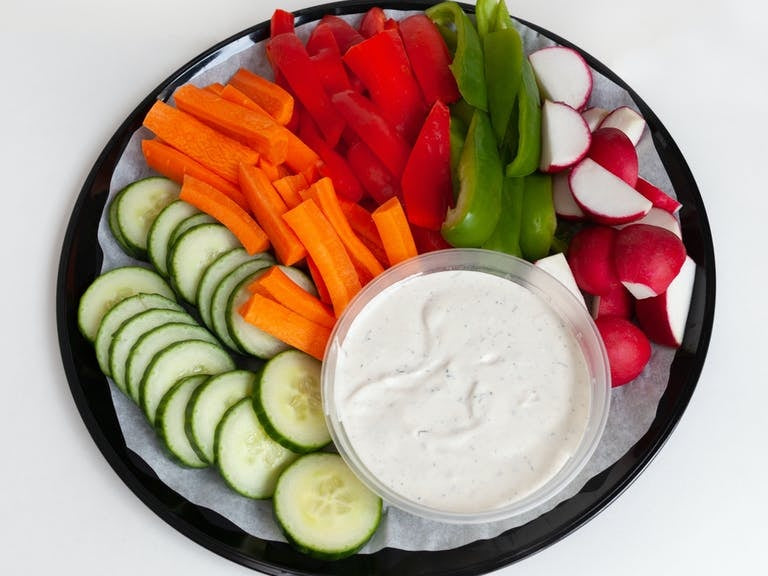 Crudite with Buttermilk Ranch