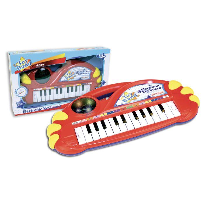 Bontempi - Elektronisk keyboard m/lys - Bontempi