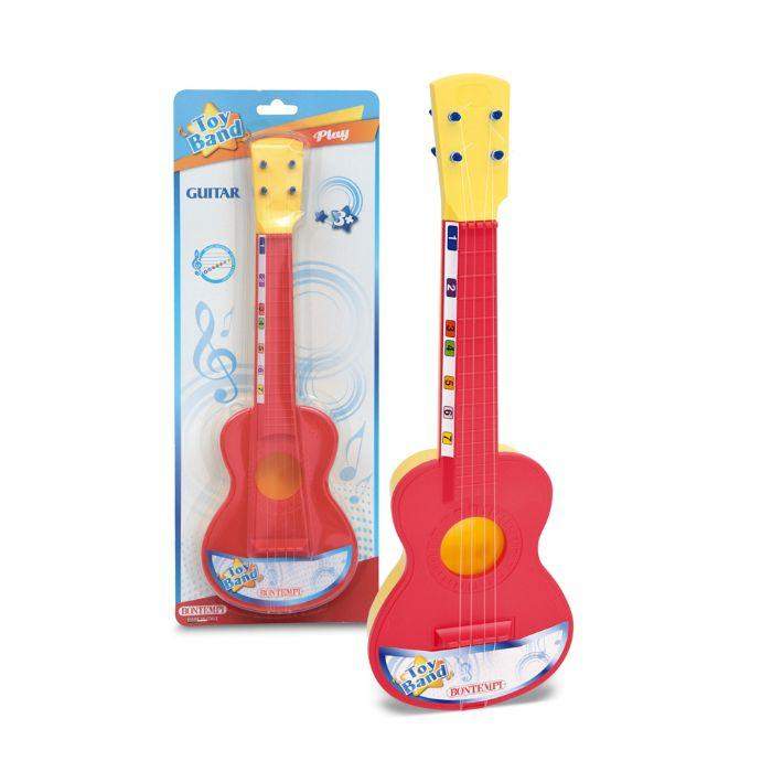 Bontempi - Spansk guitar m/4 nylon strenge - Bontempi