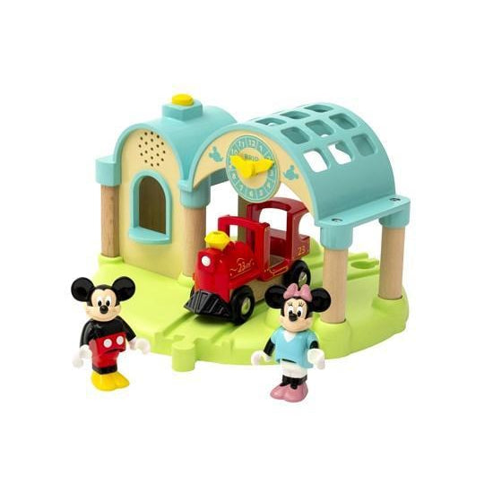 BRIO - Mickey Mouse station med lydoptager - BRIO