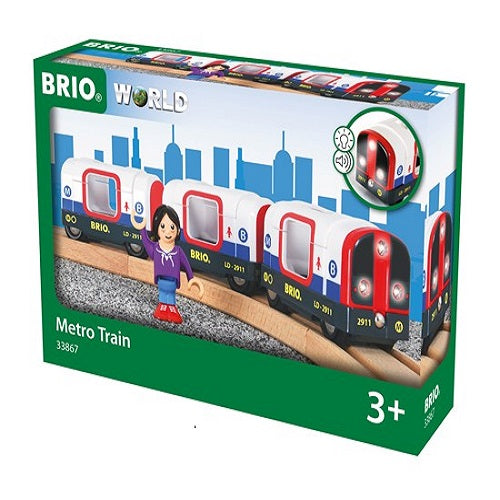 BRIO World Metrotog-Geppel's Legetøj