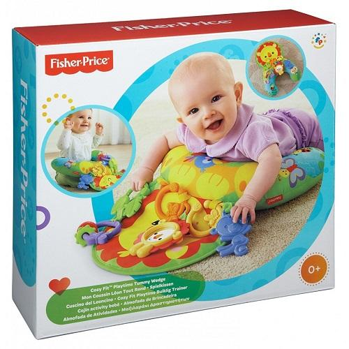 Fisher Price - Aktivitets pude-Geppel's Legetøj