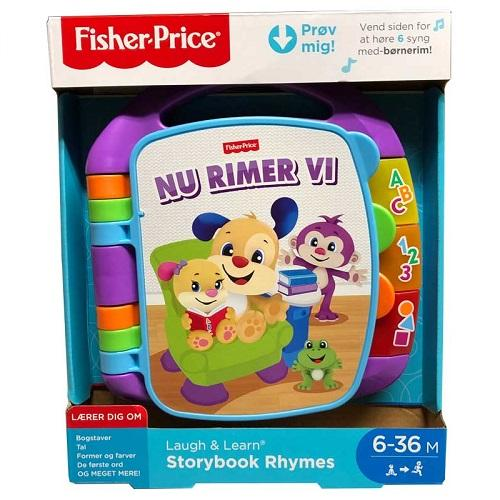Fisher-Price - Nu rimer vi - lilla - Fisher Price