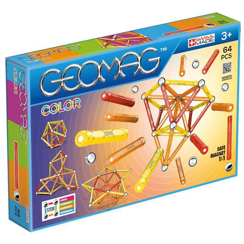 Geomag Color 64 stk - Geomag