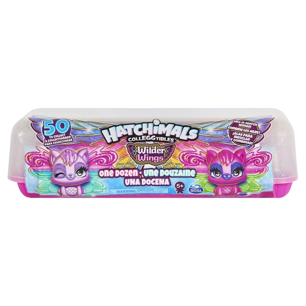 Hatchimals Colleggitbles - 12 pak S9 Wilder Wings - Hatchimals