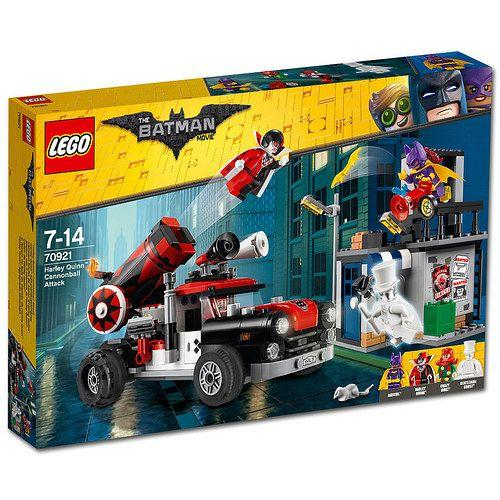 LEGO Batman Movie Harley Quinn™ kanonkugleangreb - Lego