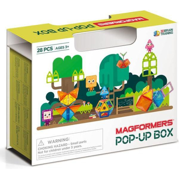 Magformers - Pop-up Box 28 stk - Magformers