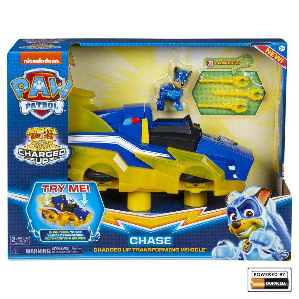 Paw Patrol - Chases Charged up Deluxe Vehicle - Paw Patrol