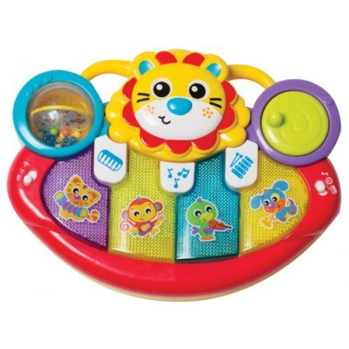 Playgro - Lion Activity Kick Toy Piano - Playgro