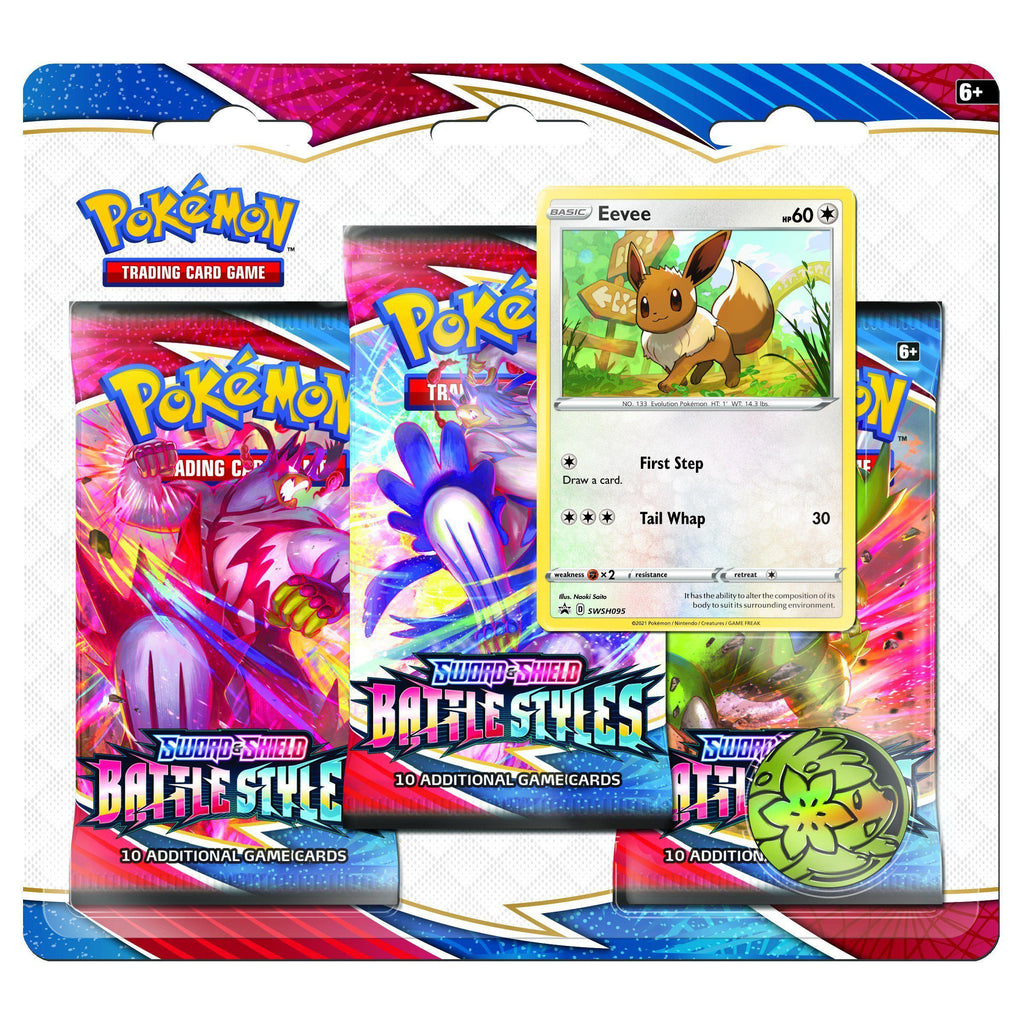 PoKéMoN - Poke Blister 3 Boosters Sword N Shield - Pokemonkort - PoKéMoN
