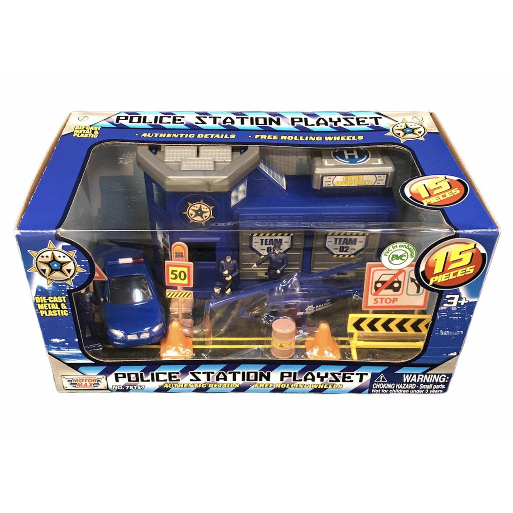 Police Station Playset - MotorMax