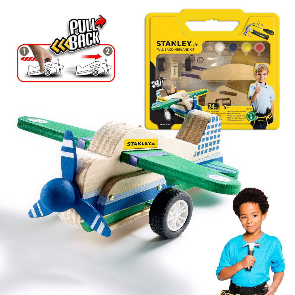 Pull-Back Airplane Kit - Stanley