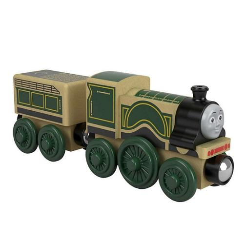Thomas & Friends Real Wood - Emily med vogn - BRIO