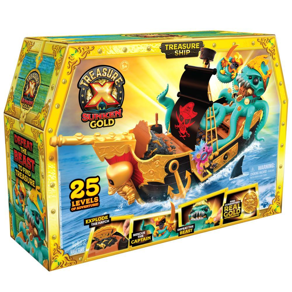 Treasure X S5 Sunken Gold - Shipwreck Legesæt - Treasure X