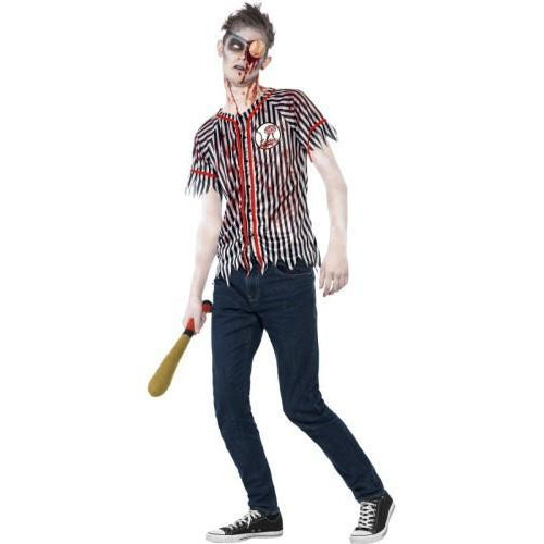 Zombie baseball spiller - Funny Fashion