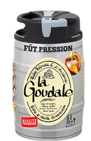 La Goudale French blond beer 5 Litre Mini Keg