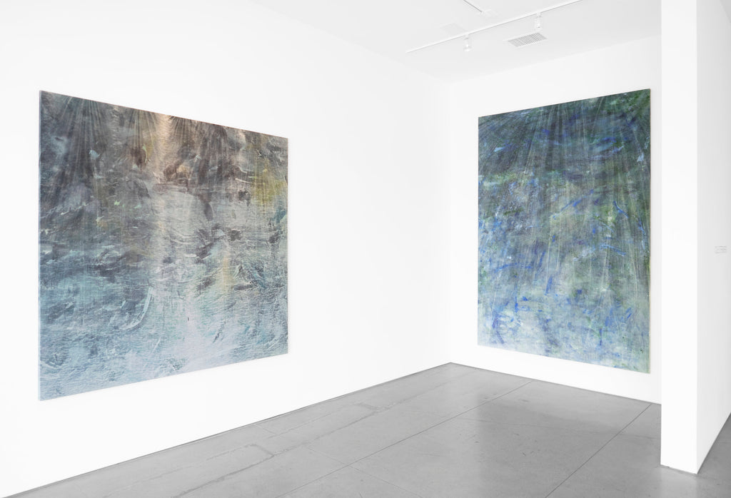 COLE STERNBERG SOLO EXHIBITION 2019 | the blue water was only a heavier and darker air