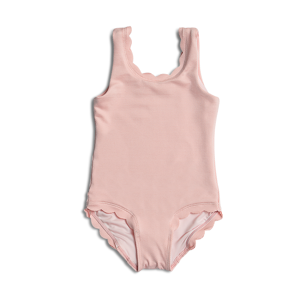 Dee Dee ~ Pink Baby One Piece Bathing Suit