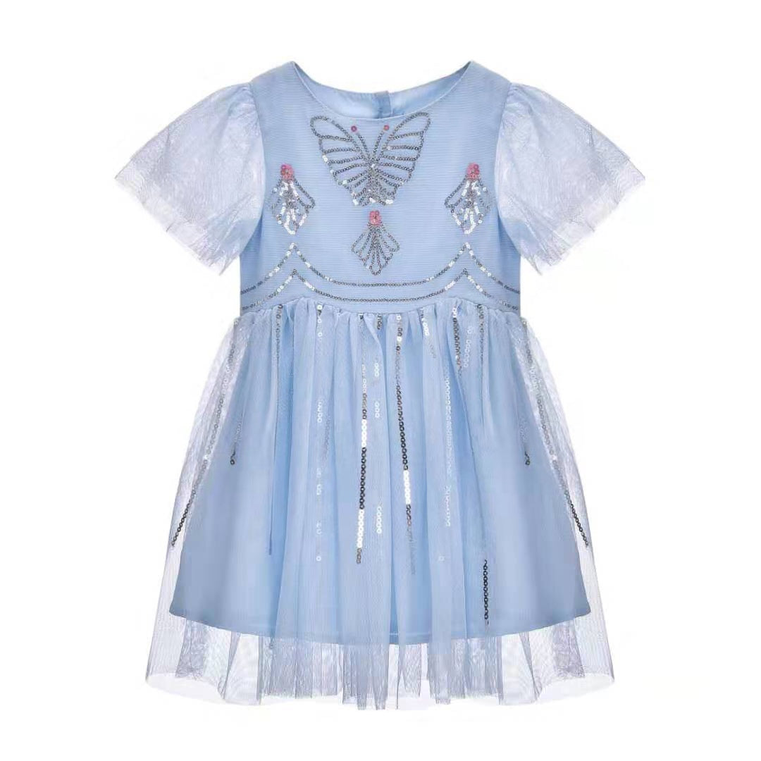 NEW Grace ~ Goddess Dress (Sky blue)