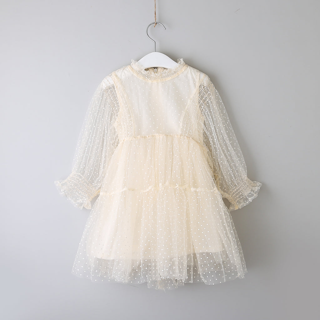 NEW Harlow ~ Ivory Dot Dress
