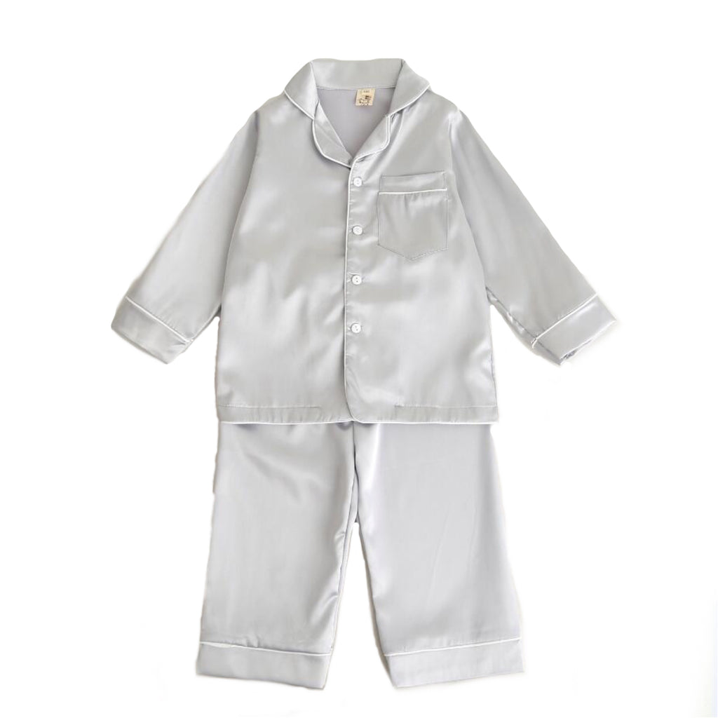 Talia  ~  Pajama Set (Grey) *