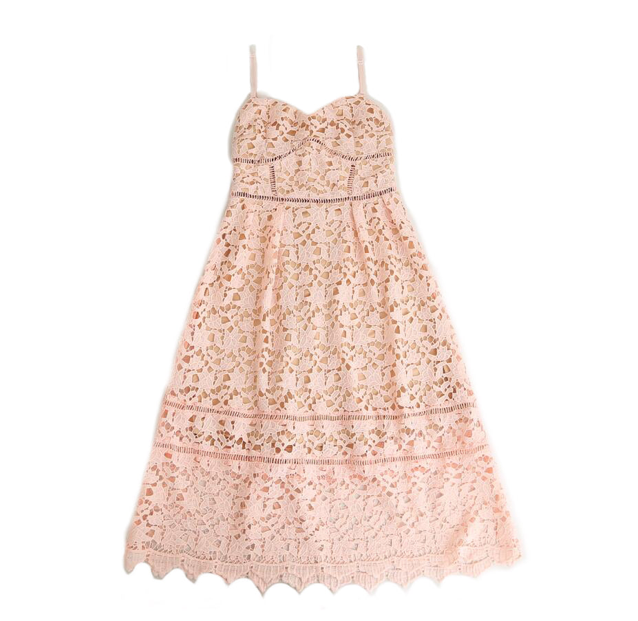 Nadia - Pink Mommy Lace Dress