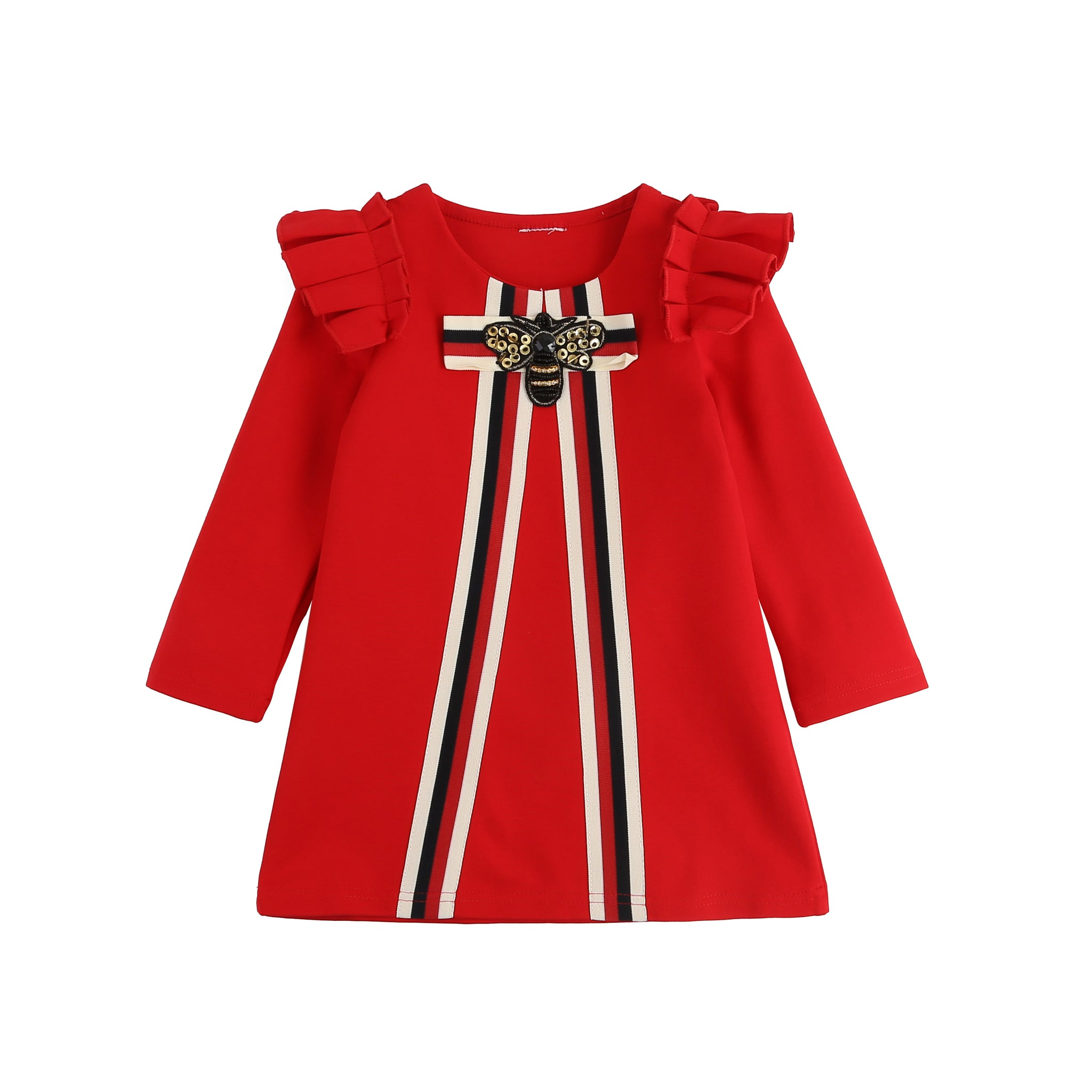 Beverly  ~ Bee Dress (Red)