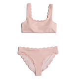Dalia ~ Pink Mommy Two Piece Bathing Suit - BOTTOM ONLY