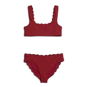 14a378c9a3 NEW Dalia ~ Burgundy Mommy Two Piece Bathing Suit - TOP ONLY ...