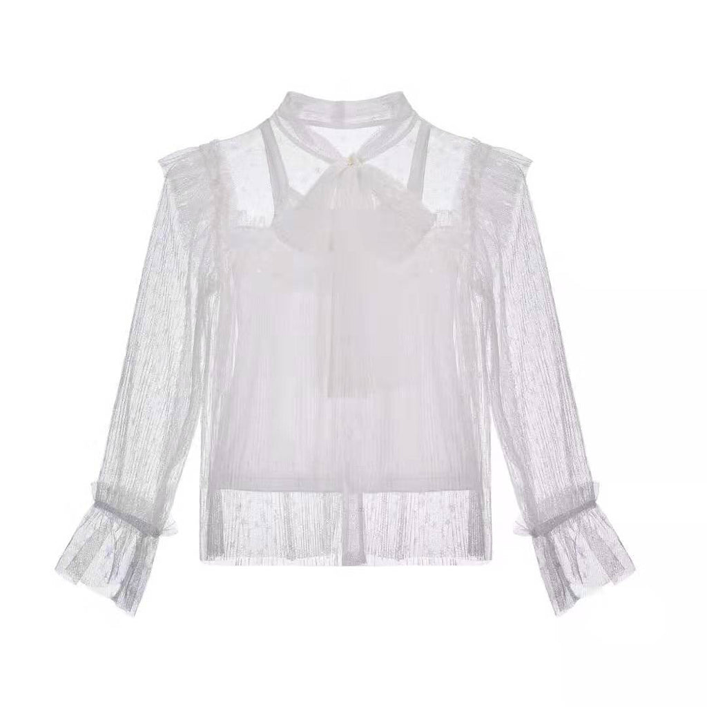 NEW Milo ~ Frill Top (white)