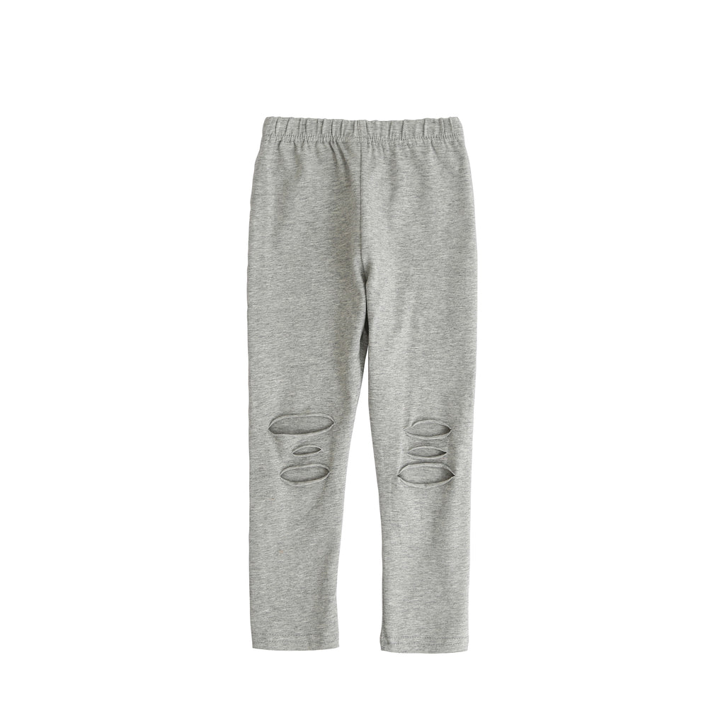 Kris - Cut Leggings (Grey)