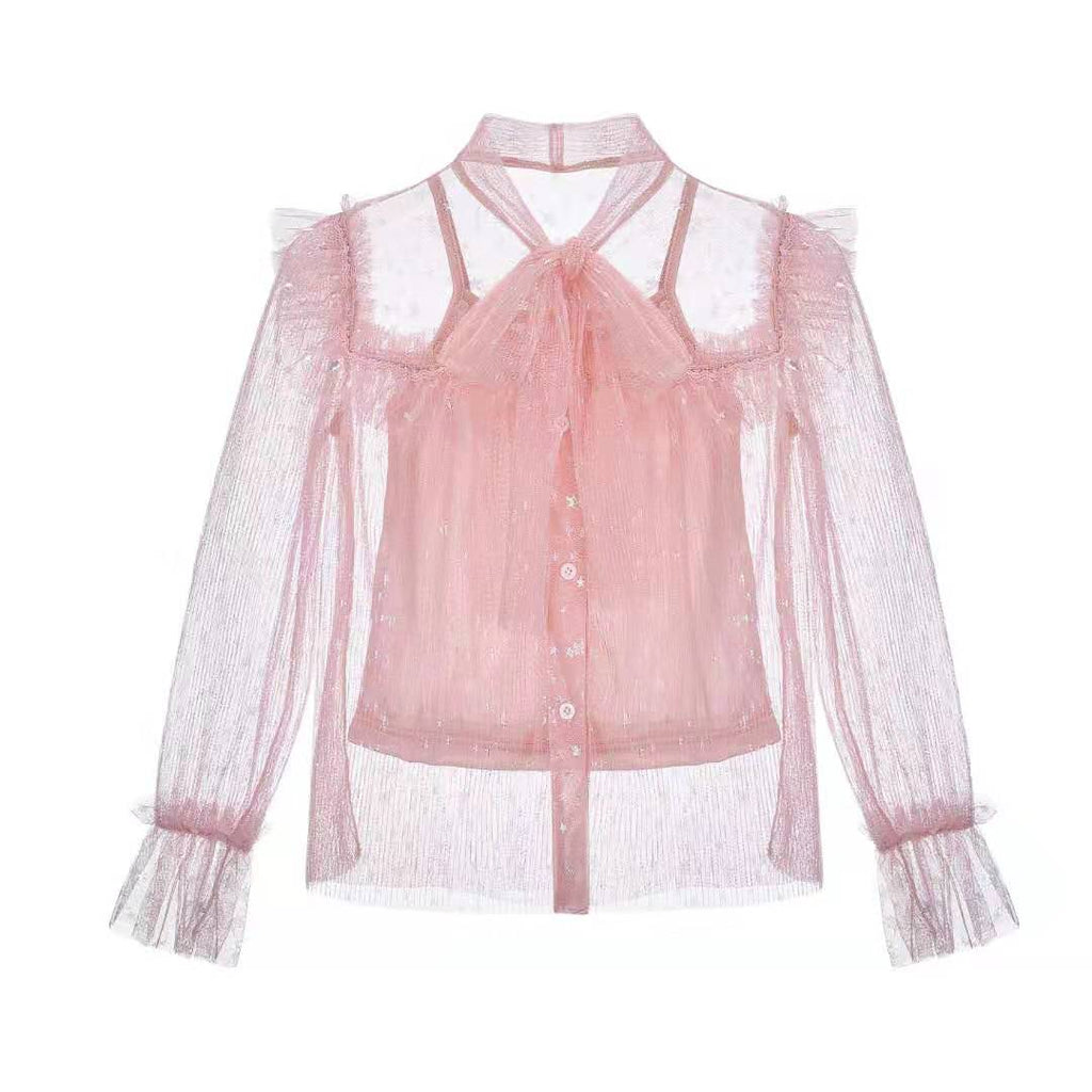 NEW Milo ~ Frill Top (pink)