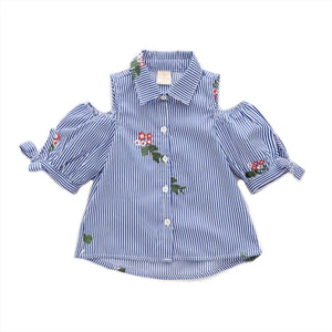 a2b3a9732f Kids Tops  Unique Selection of Girls Short   Long Sleeved Tops ...