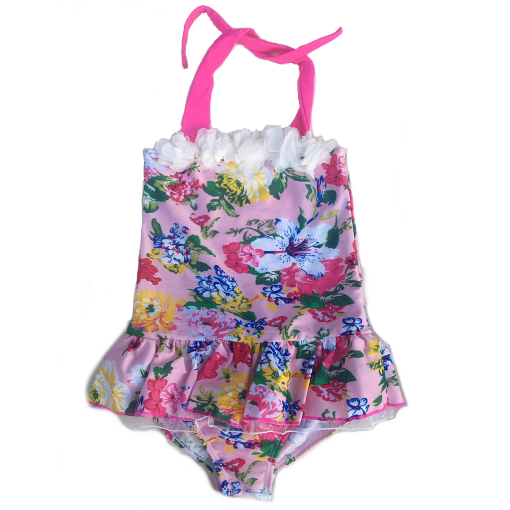 Betsy ~ Floral Bathing Suit