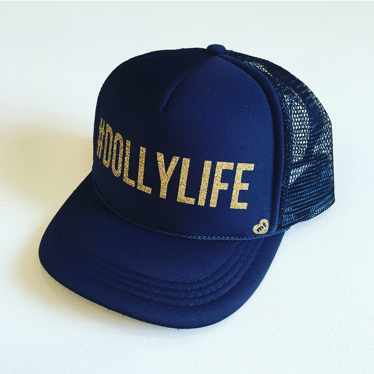 #DOLLYLIFE Trucker Hat (Blue)