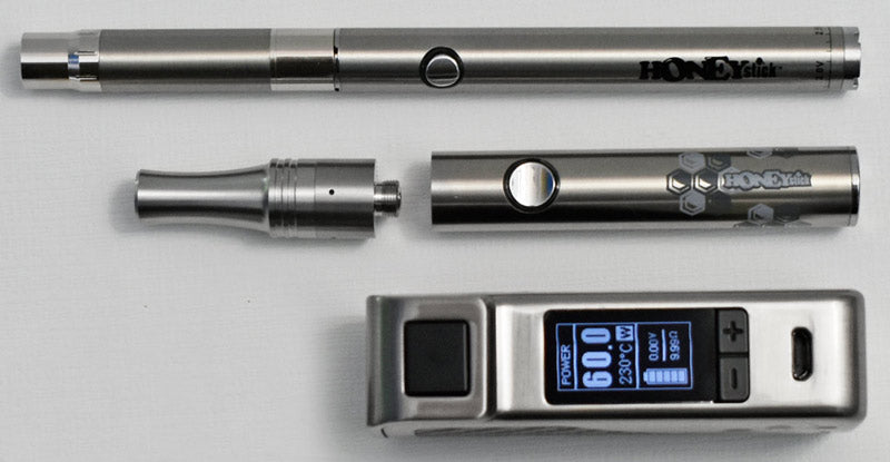 Wax Vaporizer size compared to Dab Pen
