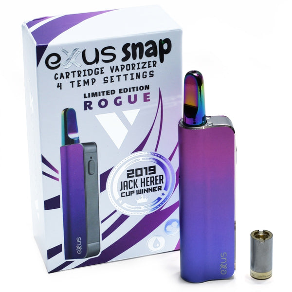 Exxus Snap Vape Pen for 510 cartridges in Rogue color option