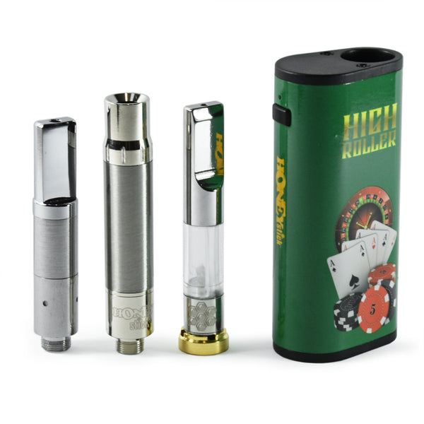 Honeystick High Roller Vape Box Mod Kit for Oil, Wax & Dry Herb