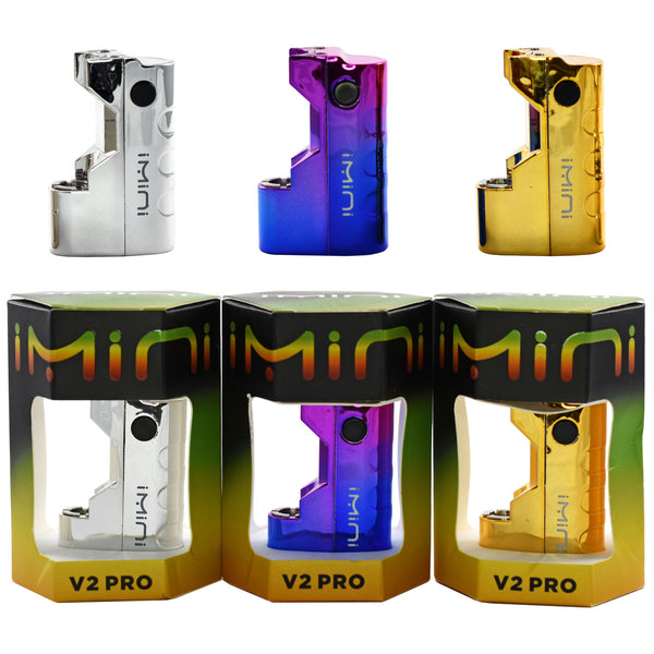 iMini V2 Pro Variable Voltage 15W / 500mAh Battery in 3 metallic colors