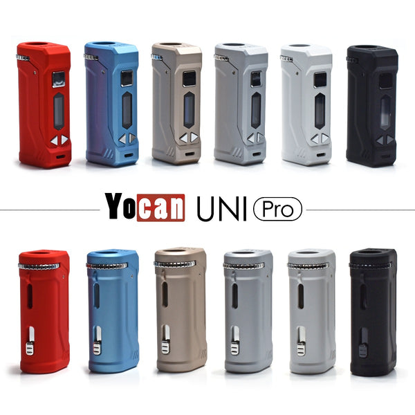 Yocan Uni Pro Front & Back - All Colors